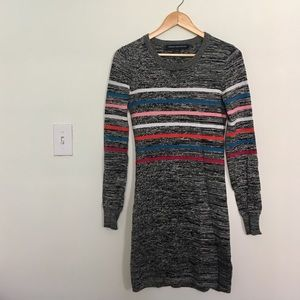 French Connection light sweater dress